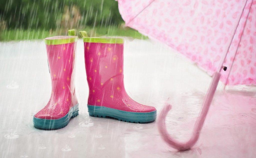 大雨を表現する英語