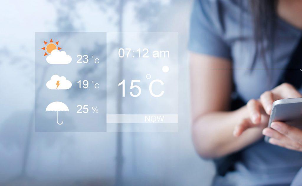 天気予報で使われる英語